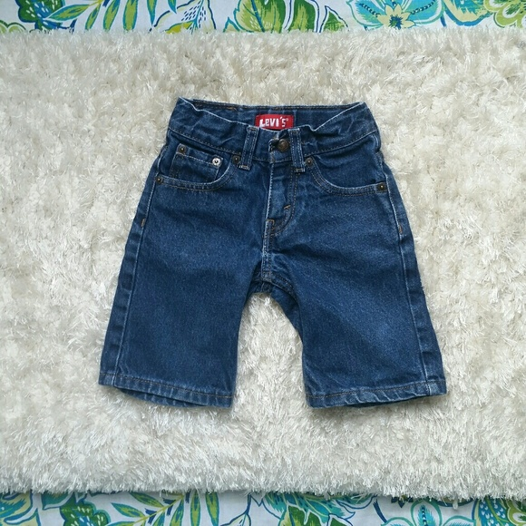 Baby & Toddler Clothing Bottoms Levi's 505 Boys Size 4t Adjustable Waist Denim Jean Shorts